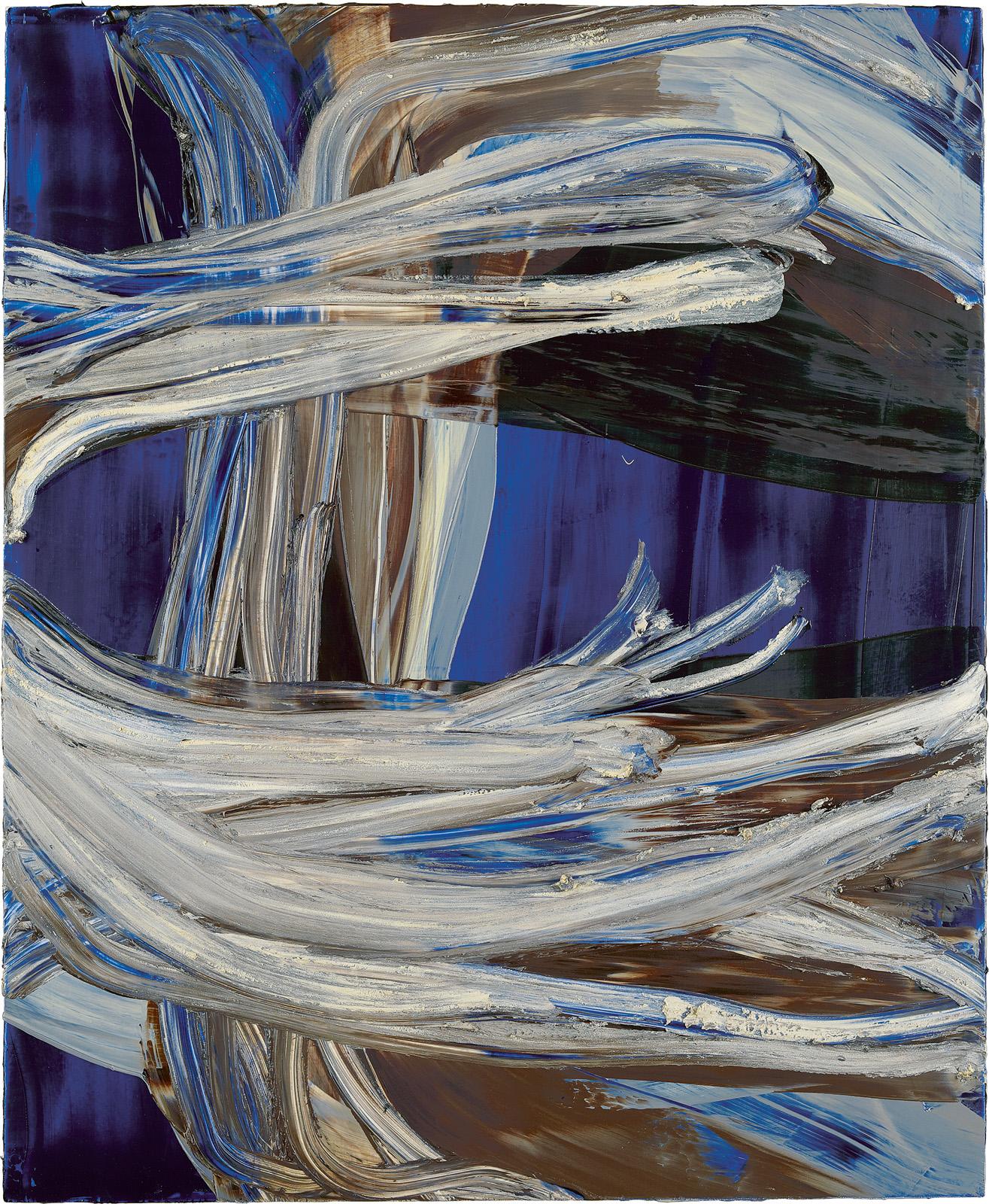 Schwarzenfels, 2012, Öl auf Holz, 83x68cm