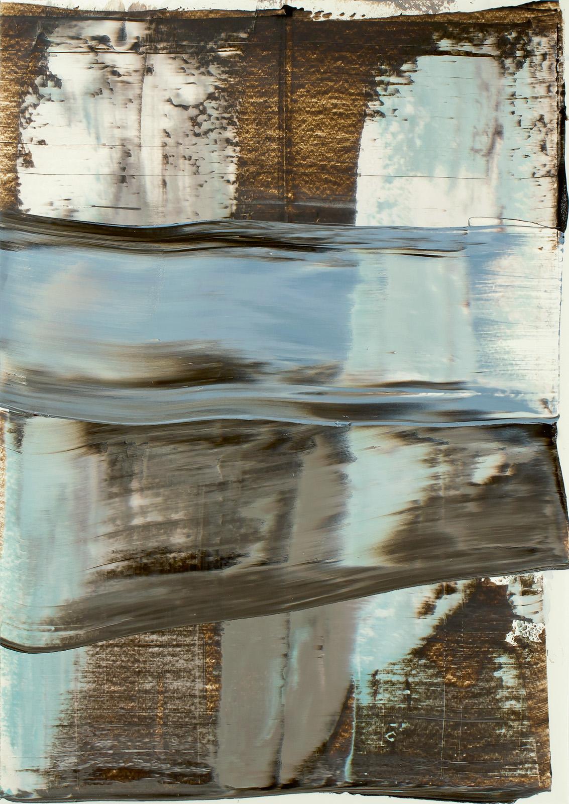 Coquitlam, Öl auf Papier, 51x36cm; 2015