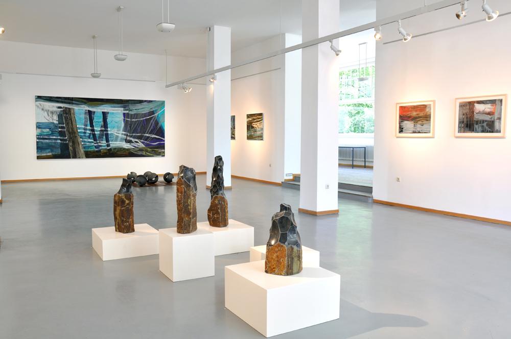 Ausstellungsansicht 3 Bad Nauheim, 2019, Foto: Wegener