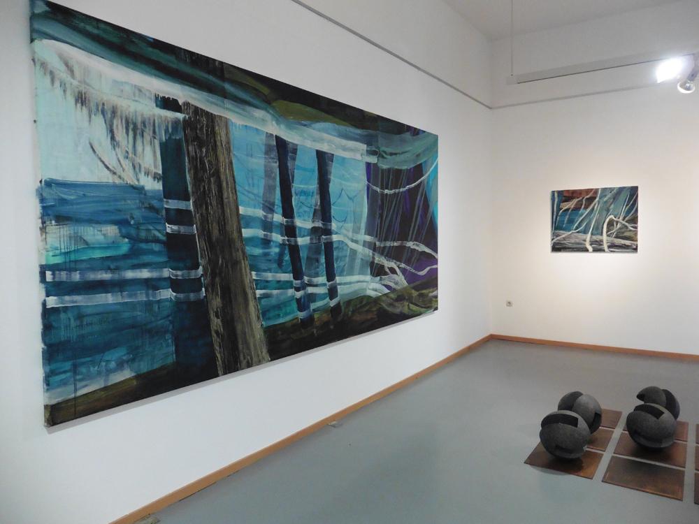 Ausstellungsansicht 2 Bad Nauheim, 2019, Foto: Wegener