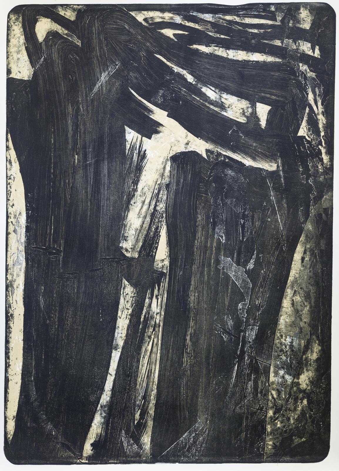 Palimpsest 2, 2020, Lithographie, 2/2, 181x131cm