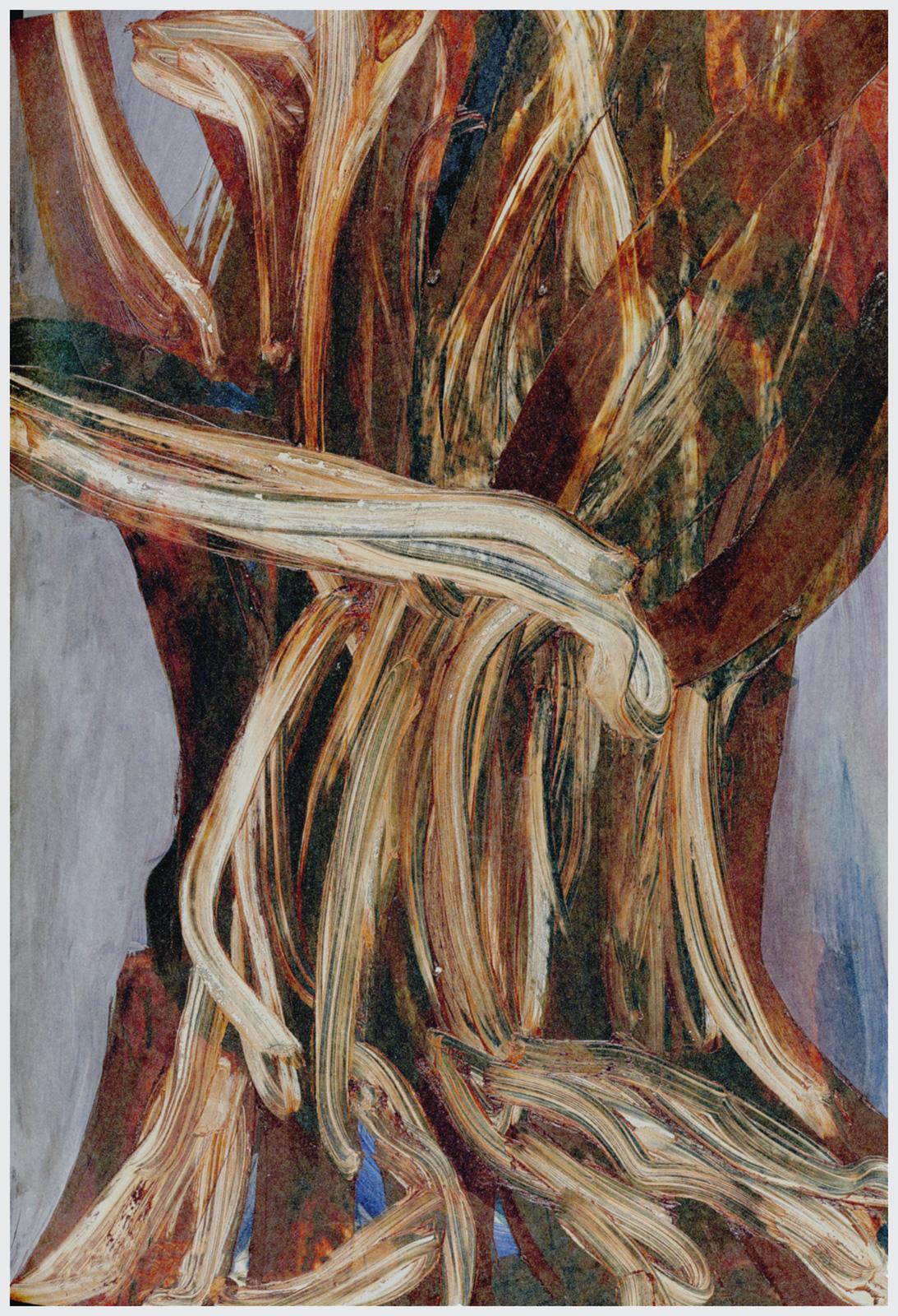 Ohne Titel, 2009, Öl auf Holz