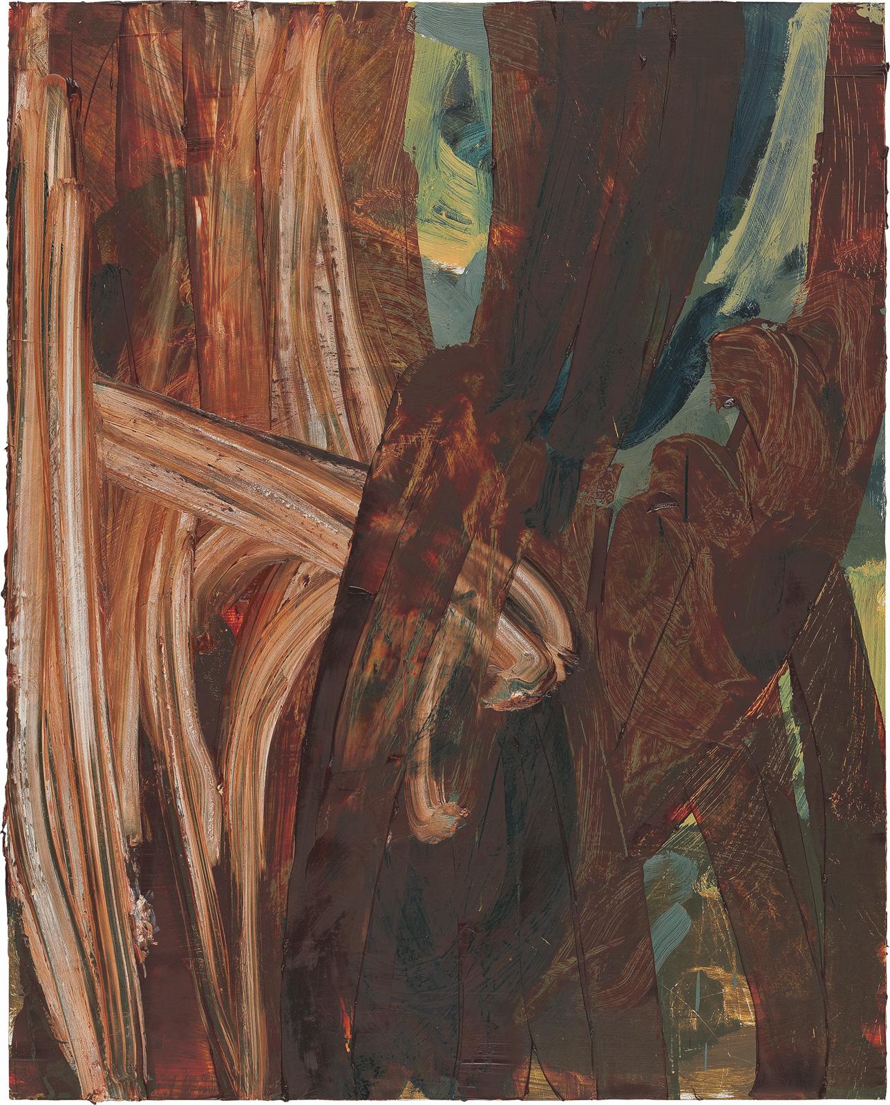 Ohne Titel, 2006, Öl auf Holz, 100x80cm