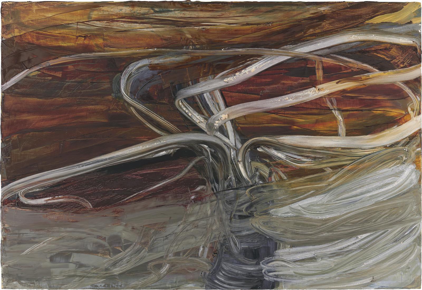 Ohne Titel, 2007, Öl auf Holz, 85x125cm