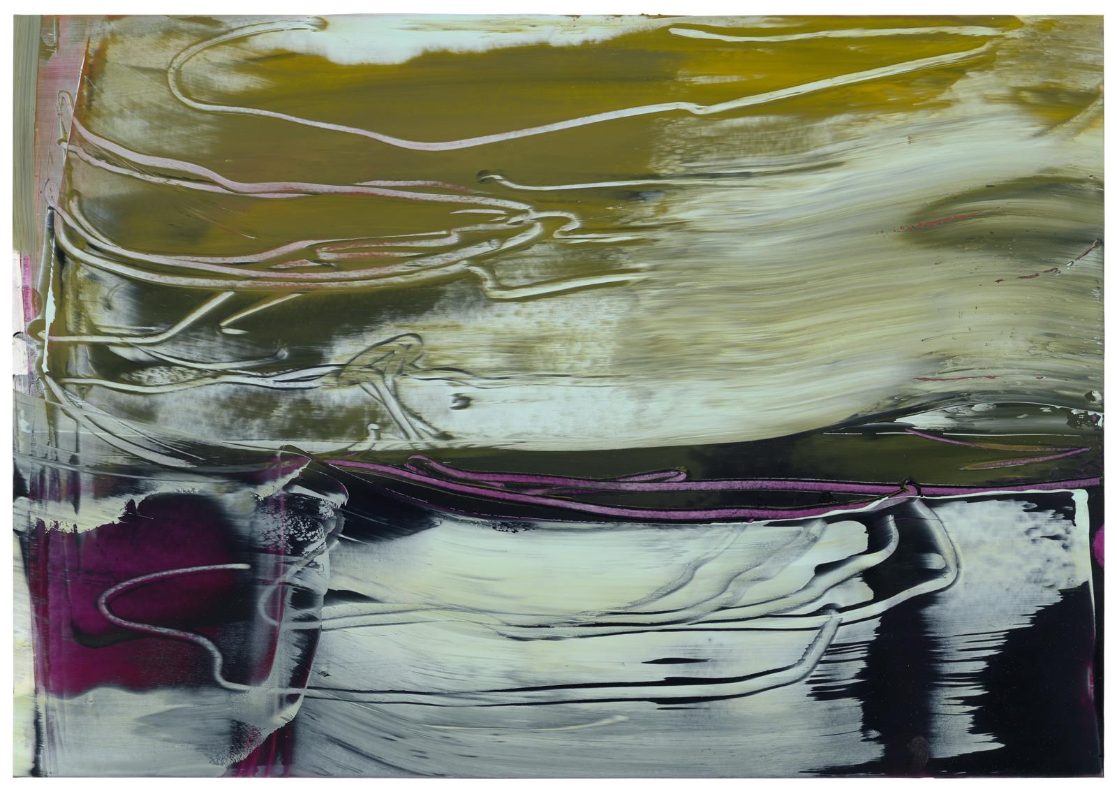 Montipora II, Öl auf Papier, 50x70cm, 2019