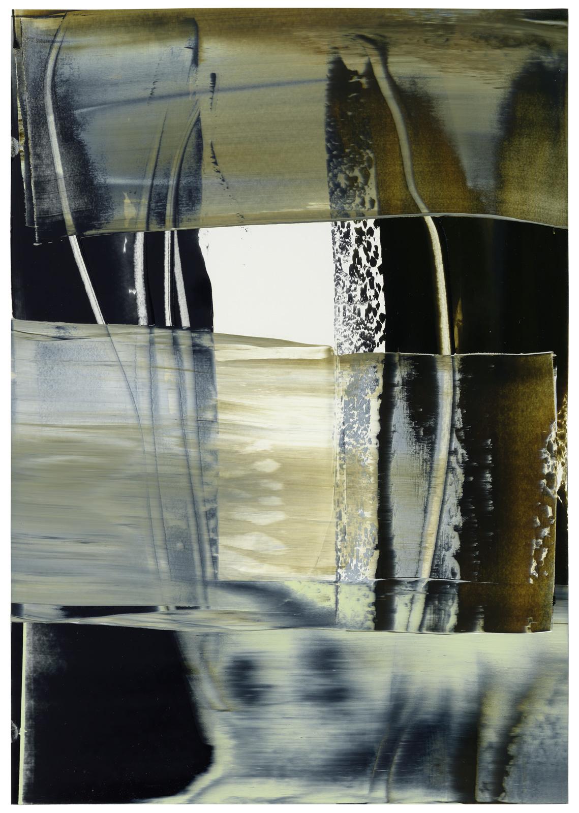 Sepia, Öl auf Papier, 51x36cm, 2019