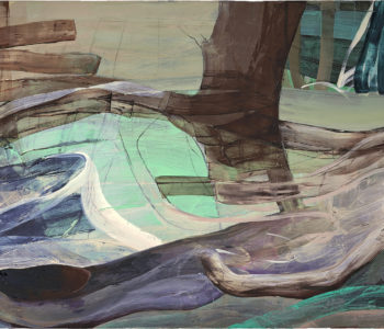 Valencia, Öl auf Leinwand, 150 x 290 cm, 2010