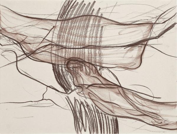 Ohne Titel, Kreide auf Papier, 26 x 35 cm, 2009