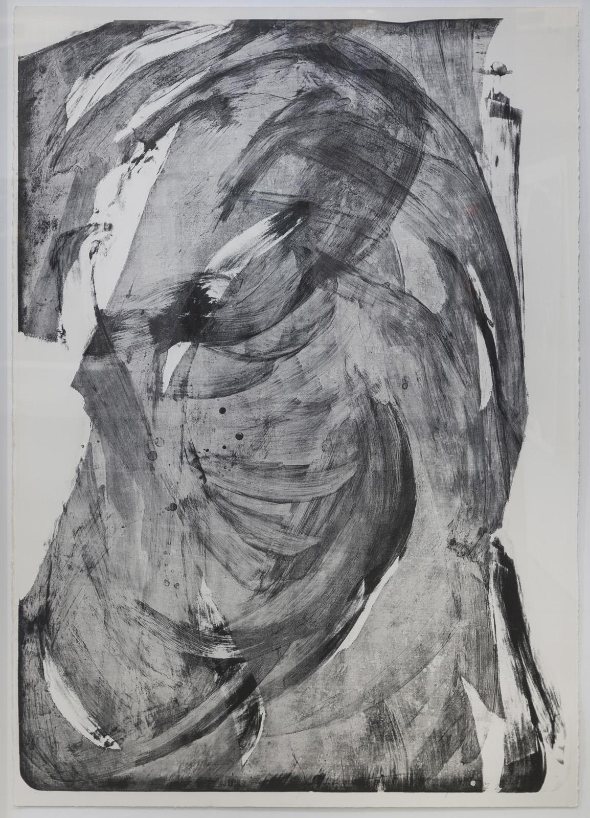 Stehender, Lithographie, 2 von 4, 177 x 124 cm, 1992
